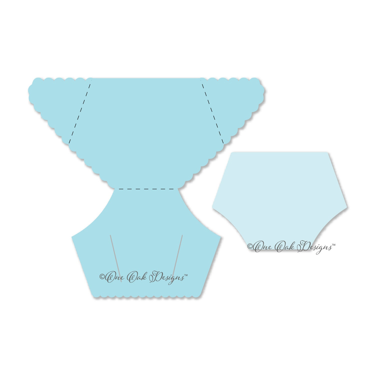 Diaper Card Template Svg File Pdf Dxf Jpg Png Eps Ai Etsy