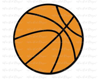Basketball SVG File svg / dxf / jpg / pdf / png / for Cameo, Cricut & other electronic cutters