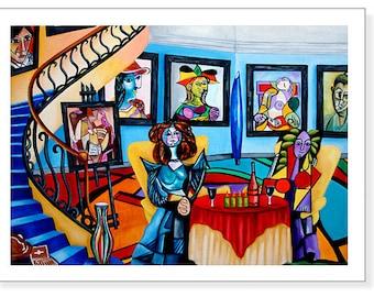 Picasso Print, Pablo Picasso art print,  Picasso Wall Art Print, Home decor