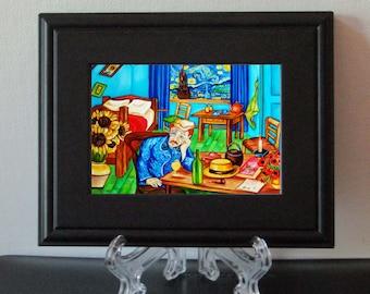 Art Print, Framed Print, van Gogh Print, van Gogh Art Print,  Interior, Home Decor Print, Small Gift