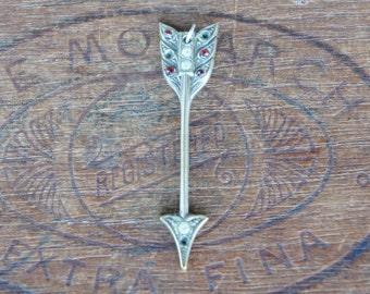 Antique Arrow Pendant Amulet Charm Talisman