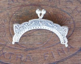 Antique Silver Art Nouveau Purse Frame