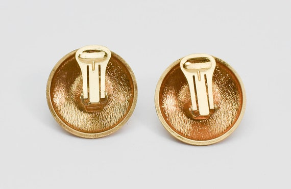 1980s LANVIN Germany Art Deco Inspired Gold Tone … - image 2