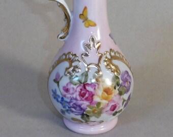 Pink Pitcher Vase