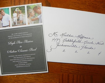Custom Hand Penned Calligraphy - Anne Font - Contemporary Zip Code