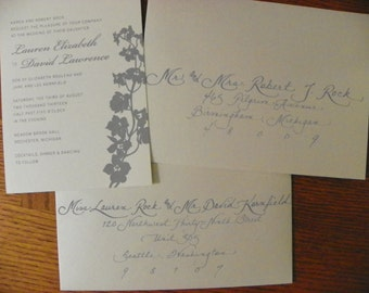 Custom Hand Penned Calligraphy - Kensie Font