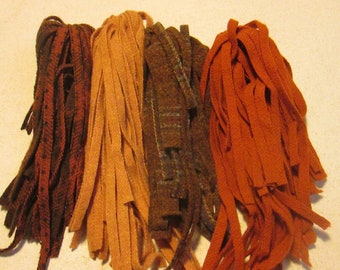 100 #8 Rusty Nails in the Pumpkin Patch Rug hooking or punch needle wool fabric strips
