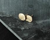 Keepsake Floral Fern 18kt gold-plated studs