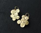 Keepsake Golden Bouquet de Fleurs earrings