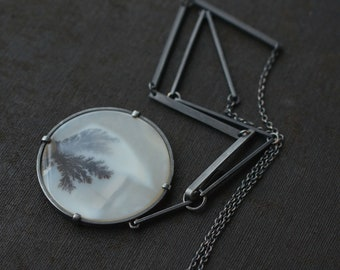 Plenitude Dendritic Agate necklace