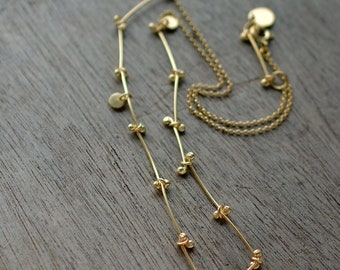 Golden Twigs Chain necklace