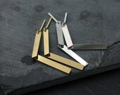 Articulated legs in Silver or 18kt gold-plated earrings