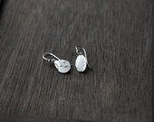 Small Keepsake Fern & Vine Silver earrings