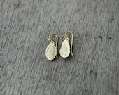 Keepsake Floral & Fern 18kt gold-plated earrings