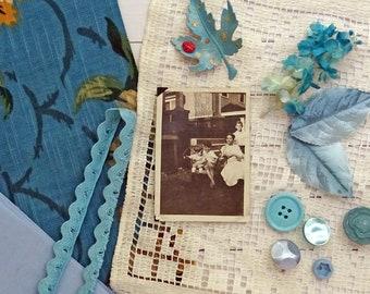 mini inspiration kit No0042 - blue