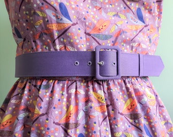 1.5 inch custom belt  with matching fabric covered buckle in many colors, handmade belt, custom made belt, custom fabric or colors