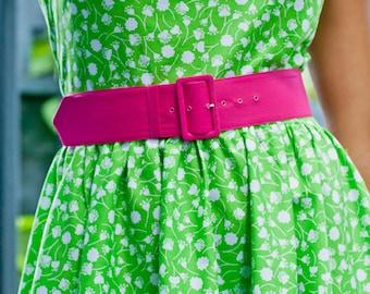 2 inch fabric covered belt -  wide fabric belt - red belt - wide belt - plus size