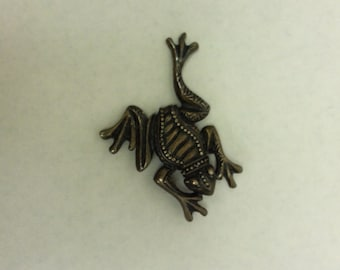 Happy Hoppy Frog Lapel Pin Great Valentine or Mothers Day Gift