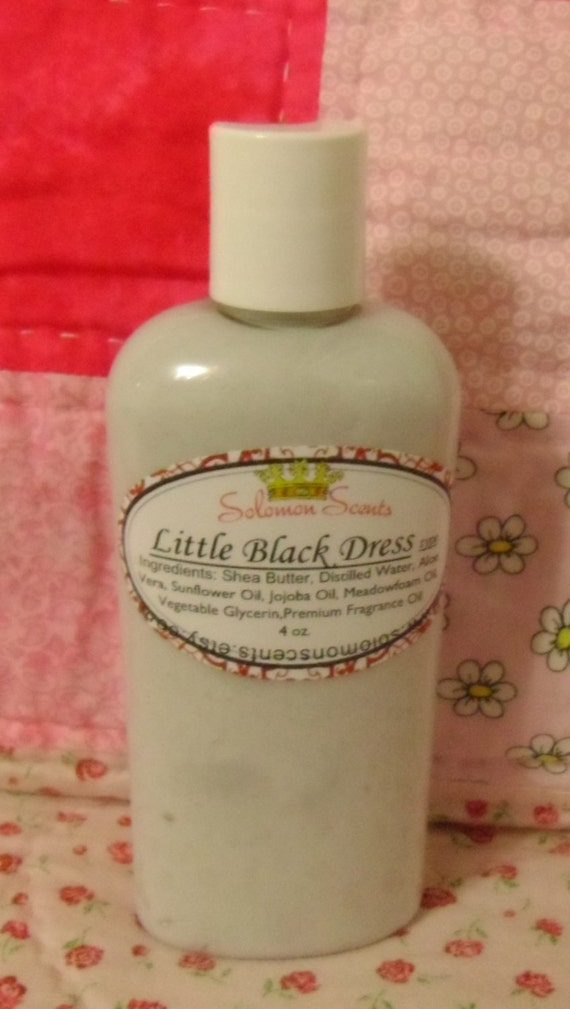 Little Black Dress Shea Butter Lotion Etsy