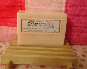 Sandalwood Shea Butter & Goats Milk Soap