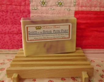 Dance of the Sugar Plum Fairy Shea Butter & Goats Milk Soap