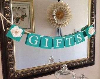 Gifts Banner Baby Shower banner Wedding Banner