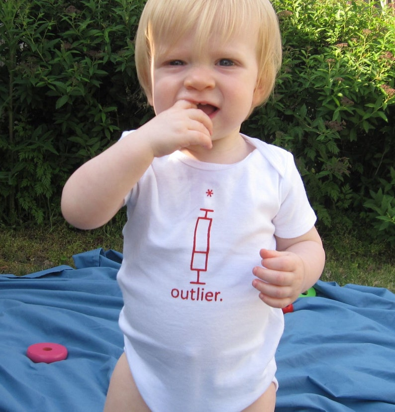 Outlier Baby Bodysuit image 0