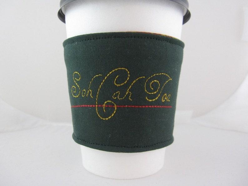 Soh Cah Toa Coffee Cozy image 0