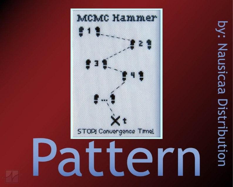 MCMC Hammer Cross-stitch Pattern image 0