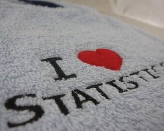I Heart Statistics Bib