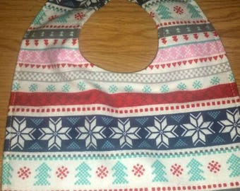 Winter bib/ flannel bib/ infant bib/ toddler bib/ baby needs/ baby gift/ baby shower