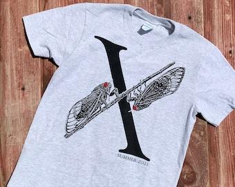 Youth Cicada Shirt, Kids Cicada Shirt, Brood X Tshirt, Cicada Tshirt, Summer 2021