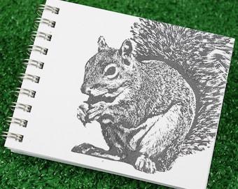 Squirrel Mini Journal, Squirrel Lover Gift, Squirrel, Journal