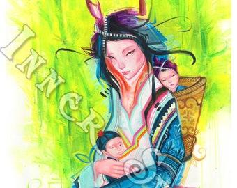 Motherhood Open Edition Print