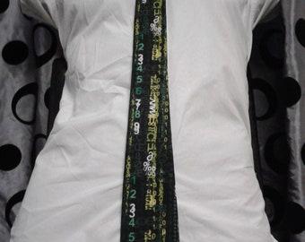 Matrix necktie