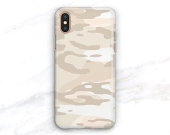 ad3fdbc1da13 Pale Nude Camo Phone Case iPhone Xs Max Case iPhone 8 Plus Case iPhone X Xr  7 SE 6S Plus Galaxy S8 S9 S10e S10 Camouflage