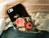 Phone Case iPhone 8 Plus Floral iPhone Xs Max Case Vintage Bouquet iPhone 7 Plus Case 6S, SE, Galaxy S9 S10 Gift for Girlfriend Wife Mom Xr