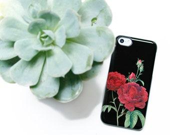 c3ce586ecd5 Floral Phone Case iPhone 6 Case Red Rose iPhone Xr Case