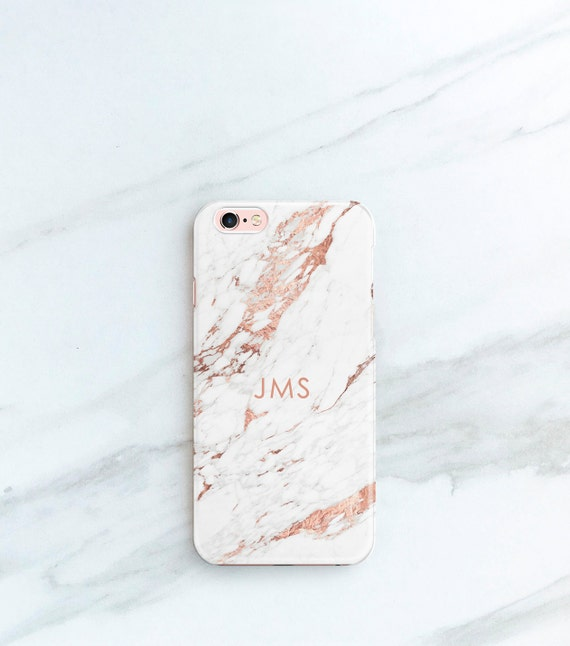 Marble Iphone Xs Case Rose Marble Iphone 8 Plus Case Etsy
