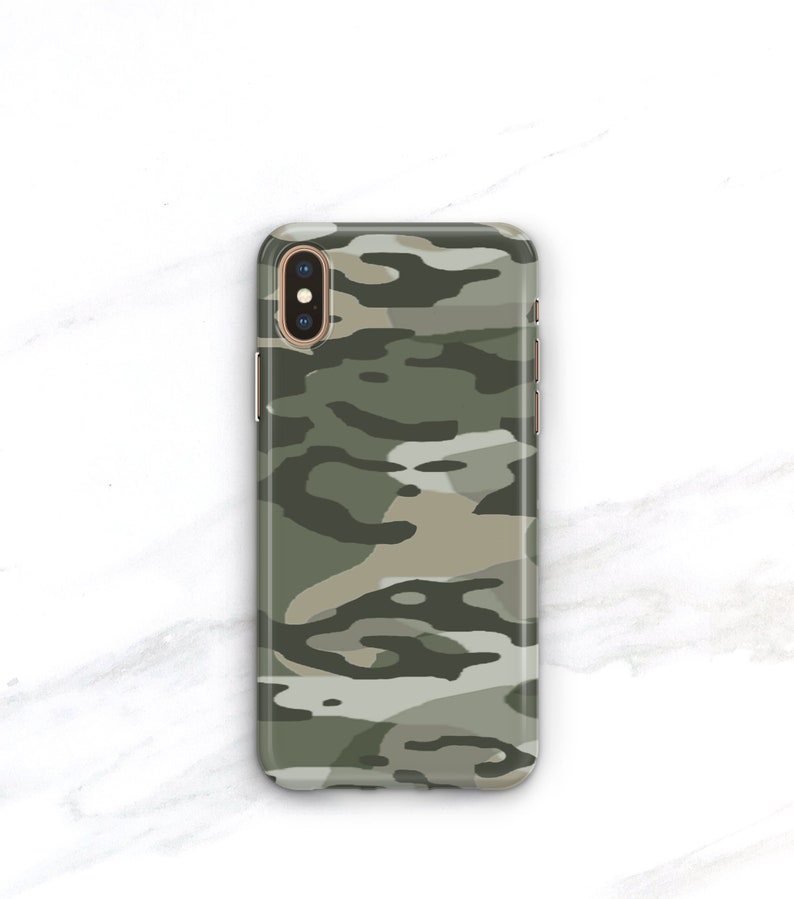 camo iphone xs case