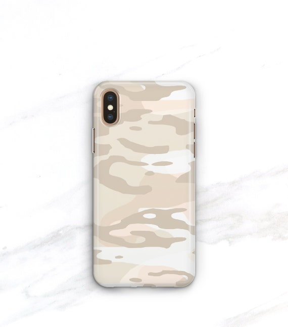 db39d8c59555 Pale Nude Camo Phone Case iPhone Xs Max Case iPhone 8 Plus Case iPhone X Xr  7 SE 6S Plus Galaxy S8 S9 S10e S10 Camouflage