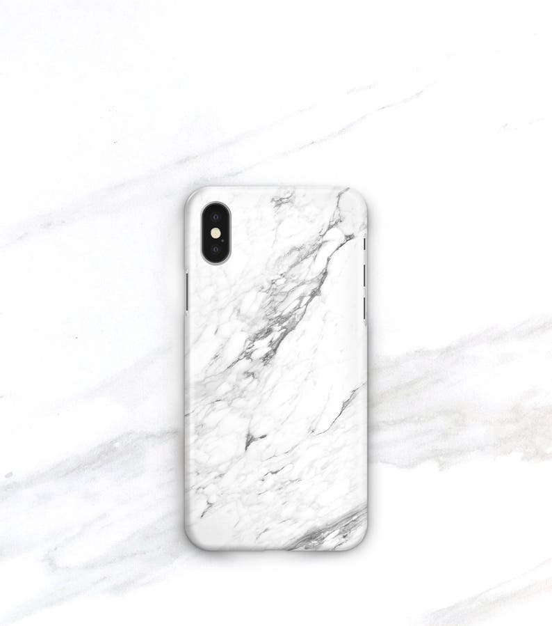 info for 8016c 37f2f Marble Phone Case iPhone Xs Case, iPhone 8 Plus Case, iPhone 8 Case, iPhone  7 Plus, iPhone 6S, iPhone SE, Samsung Galaxy S10 White Marble