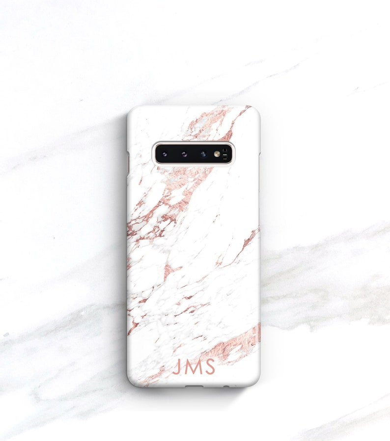 Personalized T Iphone Xs Max Case Rose Marble Iphone 8 Plus