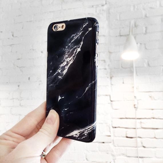 new styles 2b8b5 51aa0 iPhone Xs Case Black Marble iPhone 7 Plus Case, iPhone 6S, Marble iPhone 7  Case, iPhone 8 Plus, iPhone SE Case Galaxy S10