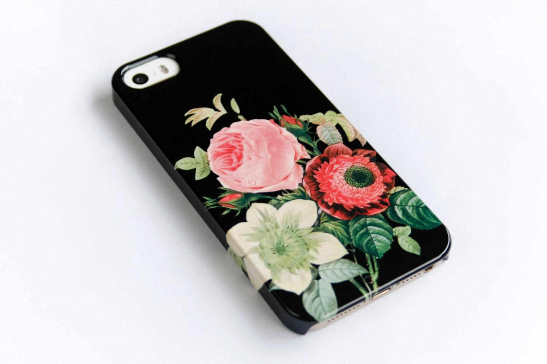 online retailer 67373 51a9f iPhone Xs Max Case Floral iPhone 7 Case Vintage Bouquet iPhone 6S, Phone  Cover iPhone 8 Plus Case Galaxy S10 Plus