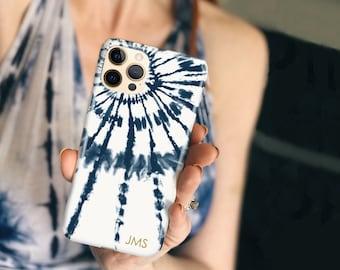 Tie Dye Phone Case Boho iPhone 13 Pro Case 12 Mini iPhone 11 Pro Max iPhone Xs Case 8 Plus Case Galaxy S21 iPhone SE CG-TIDYBW