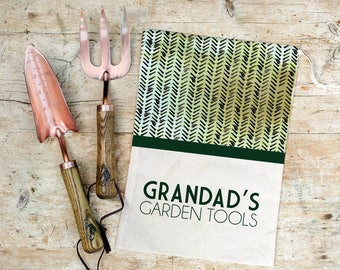 Exceptionnel Personalised Copper Garden Tool Set