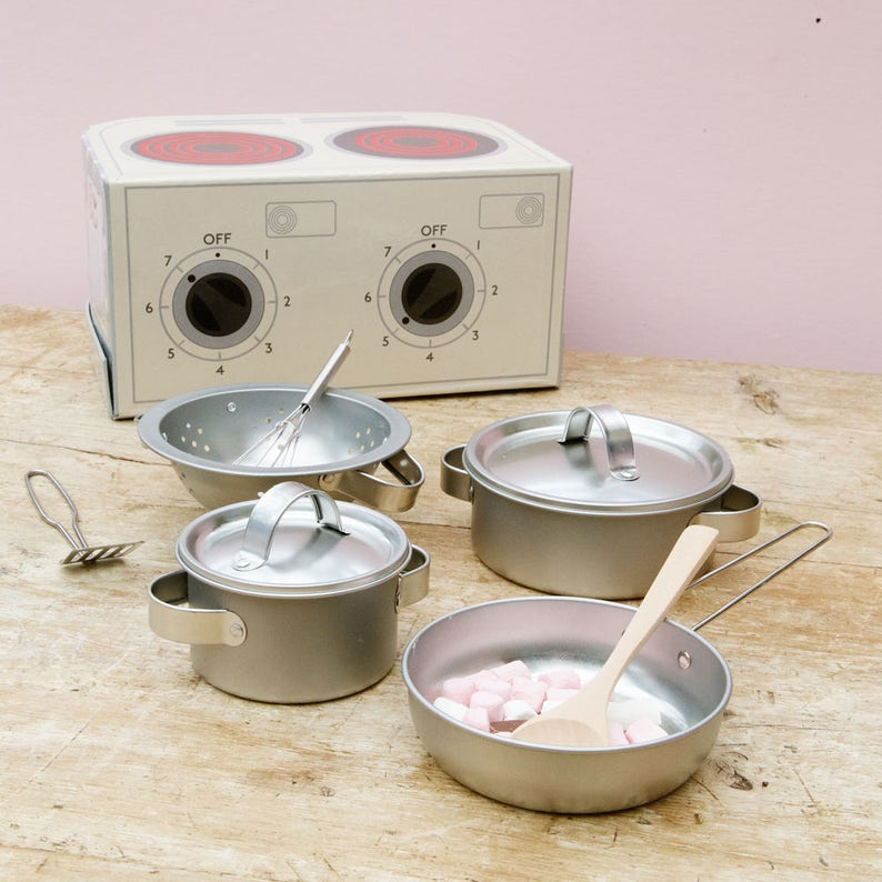 Personalised Children/'s Cooking Set