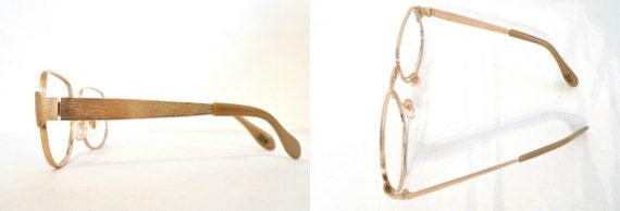 4e2cb8bc4868 Vintage 70s Never Used BIG Aviator Eyeglass Frames. NOS