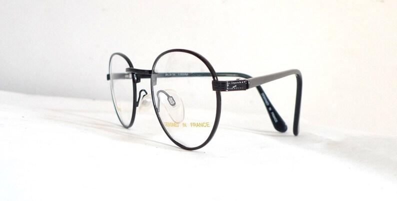 54a43bdca9c78 Lennon Glasses Round Black Metal Eyeglasses Frame Harry Potter